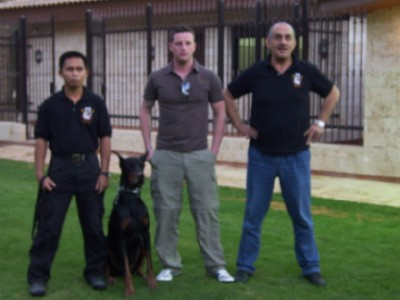 K9's for Ministry of Defense